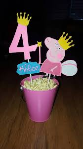 Peppa Pig Birthday Decorations 63 Best Peppa Pig Birthday Theme Images On Pinterest Pig