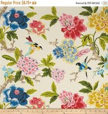 Waverly Upholstery Fabric Sales Waverly Candid Moment Gardenia Indoor Outdoor Fabric Pink Yellow
