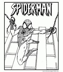 printable spiderman coloring pages to really encourage to color