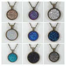 bridesmaid statement necklaces druzy necklace drusy necklace druzy jewelry statement