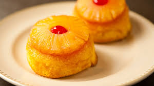 pineapple upside down mini cakes recipe tablespoon com