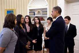 Oval Office Gold Curtains That U0027s Nfte Award Winning Teen Entrepreneurs Visit Oval Office