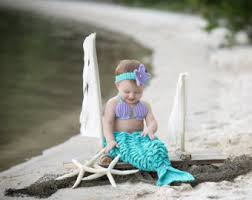Infant Mermaid Halloween Costume Mermaid Etsy
