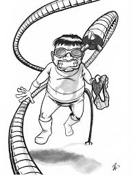 doctor octopus coloring pages businesswebsitestarter com