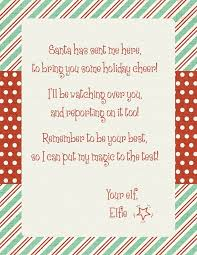 elf letter template elf on the shelf arrival letter template levelings