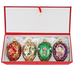 joan rivers 2016 set of 4 russian inspired egg ornaments page 1