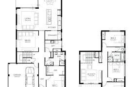 two storey residential floor plan a house floor plan 2 storey residential bldg modern house plans