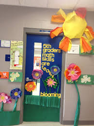 door decorations for spring spring classroom decorations door home decor and design
