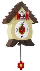 Modern Cuckoo Clock Coo Headsup Design Quartz Barking Dog Needlenose Ned Qw