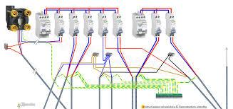 schema electrique cuisine tableau electrique circuits cuisine électricité cuisine