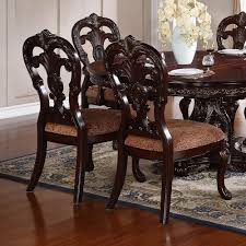 cherry dining room set homelegance deryn park 10 piece double pedestal dining room set in