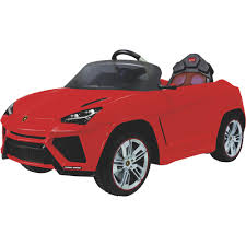 toy lamborghini lamborghini urus 12v battery powered ride on toy with remote u2014 red