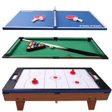 3 in 1 pool table air hockey goplus 3 in 1 multi table game air hockey tennis billiard pool table
