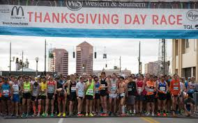 photos thanksgiving day race cincinnati refined
