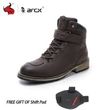 waterproof biker boots online get cheap mens motorcycle boots aliexpress com alibaba group