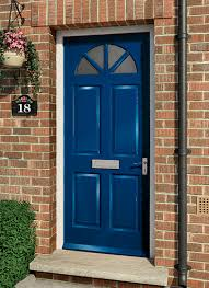 Exterior Doors Fitted Wooden Front Doors With Stained Glass And Wooden Front Doors