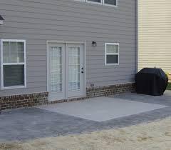 Concrete Patio With Pavers Extending Concrete Patio With Slab Pavers Jpg 902 791 Backyard