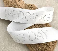silver glitter ribbon 1 1 2 wedding day glitter ribbon white satin ribbon with