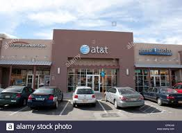 Select Comfort Stock Storefront Of At U0026t Store In A Shopping Mall New Mexico Usa Stock