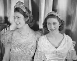 princess elizabeth and princess margaret photos 60 years of