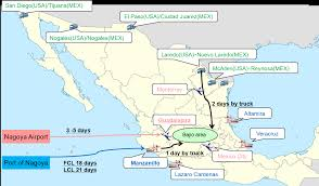 Guadalajara Mexico Map by Meiko Mexico Meiko Trans De Mexico S De R L De C V