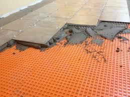 ceramic tile on unlevel floor doityourself com community forums