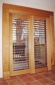 Wood Patio Door Sliding Patio Doors And Shutters Doors By Shutters Canada Toronto