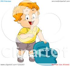 clipart of a caucasian potty training toddler boy pointing at a
