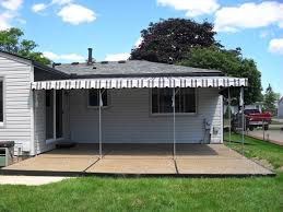 Mechanical Awnings Awning Repairs Troy Mi Roba