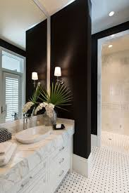 Bathroom Ideas Black And White Colors Best 25 Black And White Master Bathroom Ideas On Pinterest