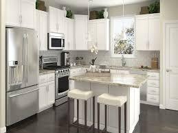 brown kitchen cabinets with white appliances u2014 smith design