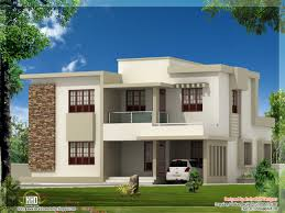 House Desighn by Contemporary Flat Roof House Kerala Home Design And Floor Plans