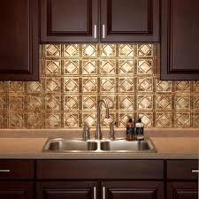 Fasade Backsplash Panels Reviews by Fasade Traditional Style 4 Bermuda Bronze Backsplash Panel