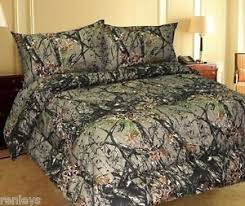 Forest Bedding Sets All Sizes Bed Sheets Woodland Forest Camo Microfiber Bedding Set 4