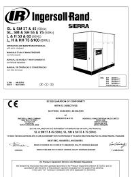 k 301 302 sierra ingersoll rand pdf