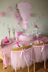how to use tulle to decorate a table wedding chair décor with tulle birthday birthdays and girls
