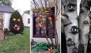 spooky decorations top 21 creepy ideas to decorate outdoor trees for