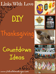 links with thanksgiving countdown ideas felt with designs