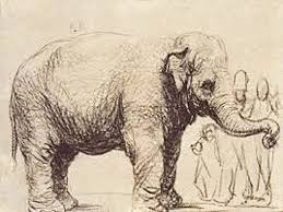 easy to draw elephants for beginners