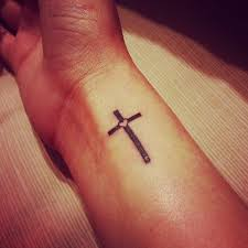 best 25 simple cross tattoo ideas on pinterest cross on wrist