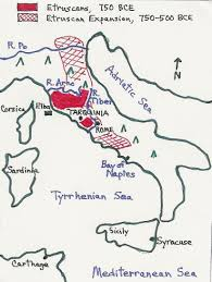 Map Of Pompeii Italy by Maps Of Etruscan Cities