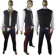 wars han solo costume esb cosplay halloween costume xmas gift belt