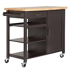kitchen carts islands homegear utility kitchen storage cart island with