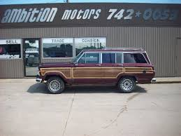 1991 jeep grand 1991 jeep grand wagoneer suv lincoln ne ambition motors