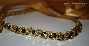 sequin headbands gold sequin headband hettie hair accessories style of colours