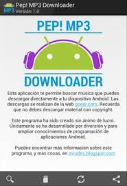 mp3 downloader android pep mp3 downloader 2 0 0 android apk free