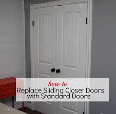 Make Closet Doors Make The Most Of Your Closet Replace Sliding Closet Doors With