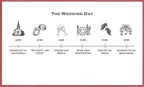 Wedding Invitations Inserts Bicoastal Bride Wedding Invitations Fun Timeline Inserts