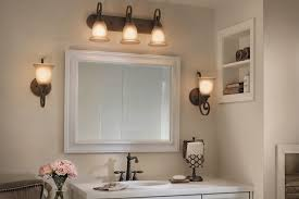Kichler Bath Lighting Bathroom Lighting Inspiration From Kichler Bathrooms