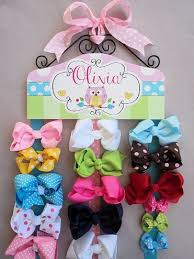 hair bow holder sweet owl personalized hair bow holder